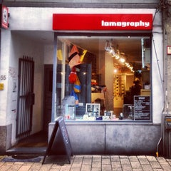 Photo taken at Lomography Gallery Store Antwerp by Pares T. on 9/13/2013