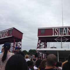 Photo taken at Governors Island by Sindhu V. on 7/19/2014