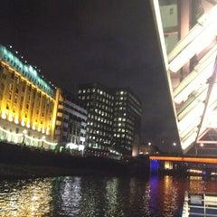 Photo taken at London Bridge City Pier by Diederik W. on 11/25/2012