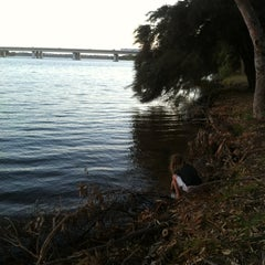 Photo taken at Swan River by Jo P. on 1/2/2013