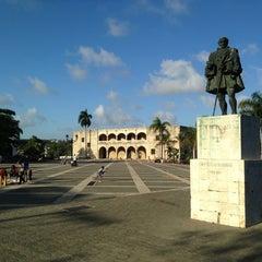 Photo taken at Plaza España by Milko L. on 3/24/2013