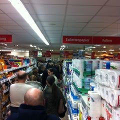 Photo taken at REWE by Marc on 12/31/2012