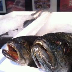 Photo taken at Budaörsi Halpiac - The Fishmonger by Peter K. on 12/20/2012