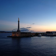 Photo taken at Porto di Messina by Raphael T H. on 10/14/2012