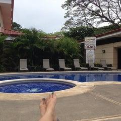 Photo taken at Club De Playa Hotel & Villas Nacazcol Playa Panamá by Andrea G. on 6/13/2014
