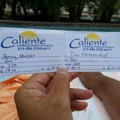 Photo taken at Caliente Resort by Jenny H. on 6/18/2014
