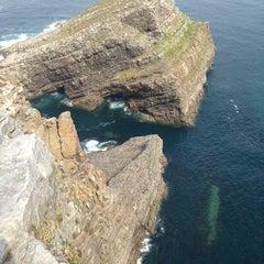 Photo taken at Faro de Cabo Vidio by Marco G. on 9/5/2014