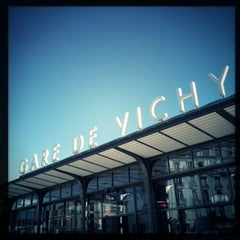 Photo taken at Gare SNCF de Vichy by Patrice D. on 3/4/2013