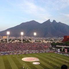 Photo taken at Estadio Tecnológico by Juan Alberto T. on 3/10/2013