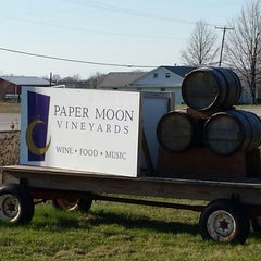 Photo taken at Paper Moon Vineyards by Shane C. on 4/26/2014