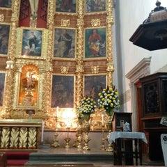 Photo taken at La Parroquia De San Gabriel Arcángel by Enrique H. on 1/24/2015