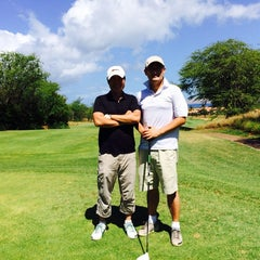 Photo taken at Ellair Maui Golf Club by Dalho K. on 6/14/2014