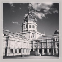 Photo taken at Royal Exhibition Building by Hans H. on 4/6/2013
