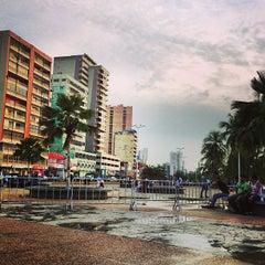 Photo taken at Plaza de la Cruz by LcArrietap on 9/10/2013