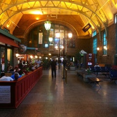 Photo taken at Gare du Palais by Carlos A. on 9/18/2012