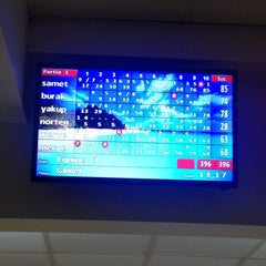 Photo taken at Bowling Champerret by Merveee O. on 9/27/2014