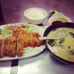 Photo taken at Matsuchan by Toshi ⚾. on 8/22/2014