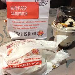 Photo taken at Burger King® by Munirah Liyana M. on 4/13/2013