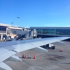 Photo taken at Gate 25 by Vince D. on 11/2/2012