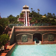 Photo taken at Siam Park by Alex K. on 5/12/2013