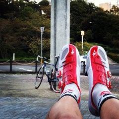 Photo taken at 眉山公園 by Syunsuke F. on 9/19/2013