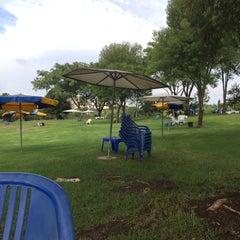 Photo taken at Reut Water Park (פארק המים רעות) by Philip T. on 10/28/2015