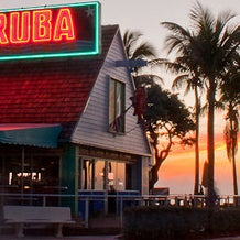 Photo taken at Aruba Beach Cafe by Aruba Beach Cafe on 4/9/2014