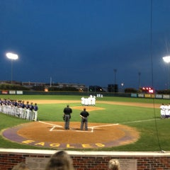 Photo taken at Richardson High School Baseball Field by Kirsten O. on 3/15/2013