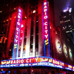 Photo taken at Radio City Music Hall by Adrian M. on 4/13/2013