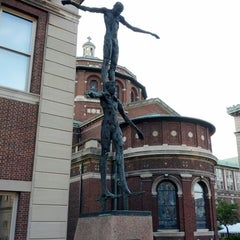 Photo taken at Columbia University Sculpture Garden by Brent B. on 5/27/2013