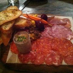 Photo taken at Barbuzzo Mediterranean Kitchen & Bar by Charles B. on 11/30/2012