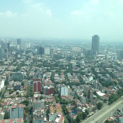 Photo taken at Torre Mayor by Alfonso on 6/26/2015