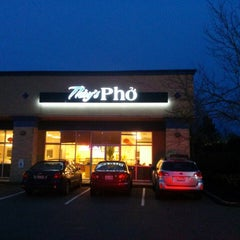 Photo taken at Th`uy's Pho by Brett R. on 2/14/2014