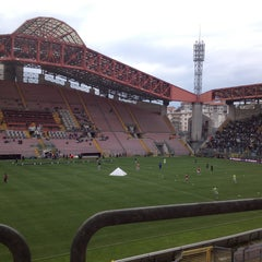 Photo taken at Stadio Nereo Rocco by walter b. on 4/27/2013