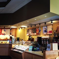 Photo taken at Bruegger's by Jake S. on 12/16/2012