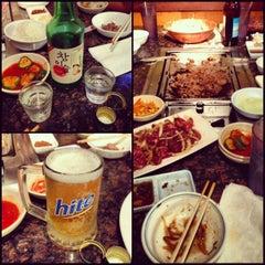 Photo taken at Imperial Korean BBQ Restaurant by Mikaela I. on 12/11/2012