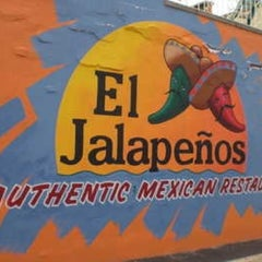 Photo taken at El Jalapeños Authentic Mexican Restaurant by Rick U. on 12/30/2012