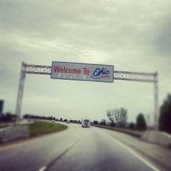 Photo taken at Ohio/Indiana State Line by Вадим Т. on 10/1/2012