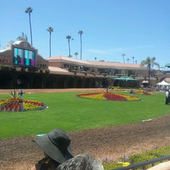 Photo taken at Del Mar Racetrack by Bruce J. on 7/17/2014