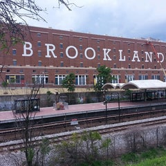 Photo taken at Brookland-CUA Metro Station by JR R. on 7/8/2013