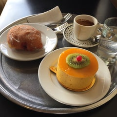 Photo taken at Masse's Pastries by Ji C. on 12/21/2014