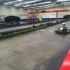 Photo taken at Kart World Belmont by Anthony S. on 7/13/2014