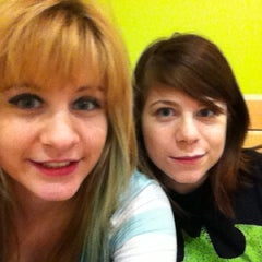 Photo taken at Garst Dining Center by Halley Z. on 12/14/2012