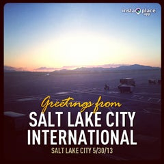 Photo taken at Salt Lake City International Airport (SLC) by Randal S. on 5/31/2013
