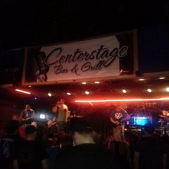 Photo taken at Centerstage Bar & Grill by Jessie W. on 5/19/2014