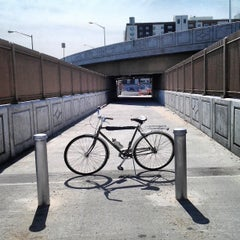 Photo taken at Willis Avenue Bridge by Kris R. on 4/4/2013
