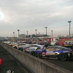 Photo taken at ツインリンクもてぎ (Twin Ring Motegi) by Saku Y. on 11/3/2013