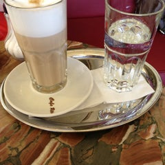 Photo taken at Café Ritter by Gilles B. on 4/12/2013