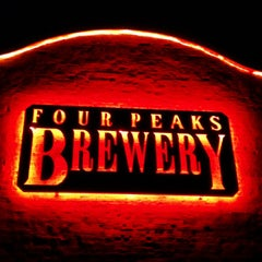 Photo taken at Four Peaks Brewing Company by Adrian F. on 9/29/2013