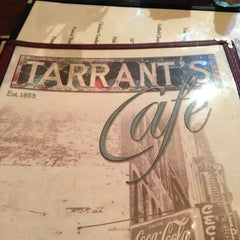 Photo taken at Tarrant's Cafe by Jeff B. on 6/7/2013